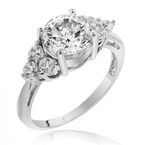 แหวนเพชร DiamondLike เพชรเม็ดใหญ่ขนาด 2 กะรัต ดีไซน์มีระดับ หรูหราอลังการ เข้ากันกับทุกสไตล์การแต่งตัว