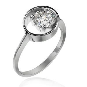แหวนเพชร DiamondLike ขนาดเพชร 1 กะรัต ย้ำความโดดเด่นที่ไม่เหมือนใคร ดีไซน์สุดเก๋ บนตัวเรือนเงินแท้ชุบทองคำขาว