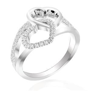 แหวนเพชร DiamondLike สัญลักษณ์ของหัวใจ เปรียบเสมือนความรักของชายหญิงที่จะอยู่คู่กันไปตลอดชั่วนิรันดร์