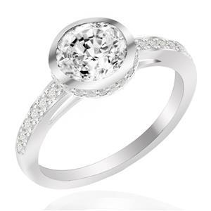 แหวนเพชร DiamondLike เพิ่มลูกเล่นเก๋ๆให้กับแหวนสุดหรู สำหรับสาวที่ชอบความสนุกสนาน ตัวเรือนเงินแท้ชุบทองคำขาว