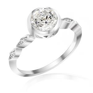 แหวนเพชร DiamondLike  ดีไซน์สุดคลาสสิค