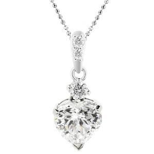 จี้เพชร DiamondLike ตัวแทนความรักความผูกพัน ด้วยดีไซน์เพชรรูปทรงหัวใจเม็ดเดี่ยว เหมาะสำหรับเป็นของขวัญที่ล้ำค่าที่สุดสำหรับคนที่คุณรัก