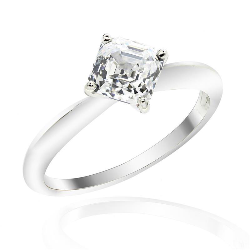 แหวน LENYA ETERNAL ประดับด้วย SWAROVSKI ZIRCONIA ตัวเรือนเงินแท้ชุบทองคำขาวแท้