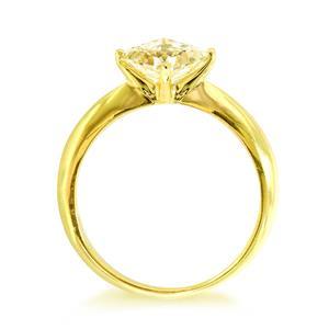 แหวนประดับ SWAROVSKI ZIRCONIA ตัวเรือนเงินแท้ชุบทองคำแท้