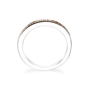 แหวน LENYA ETERNAL ประดับด้วย SWAROVSKI ZIRCONIA สีเหลืองแฟนซี บนตัวเรือนเงินแท้ชุบทองคำขาวแท้ สวยคลาสสิค